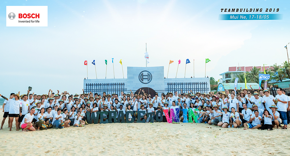 BOSCH - We Race To Win - Teambuilding 2019