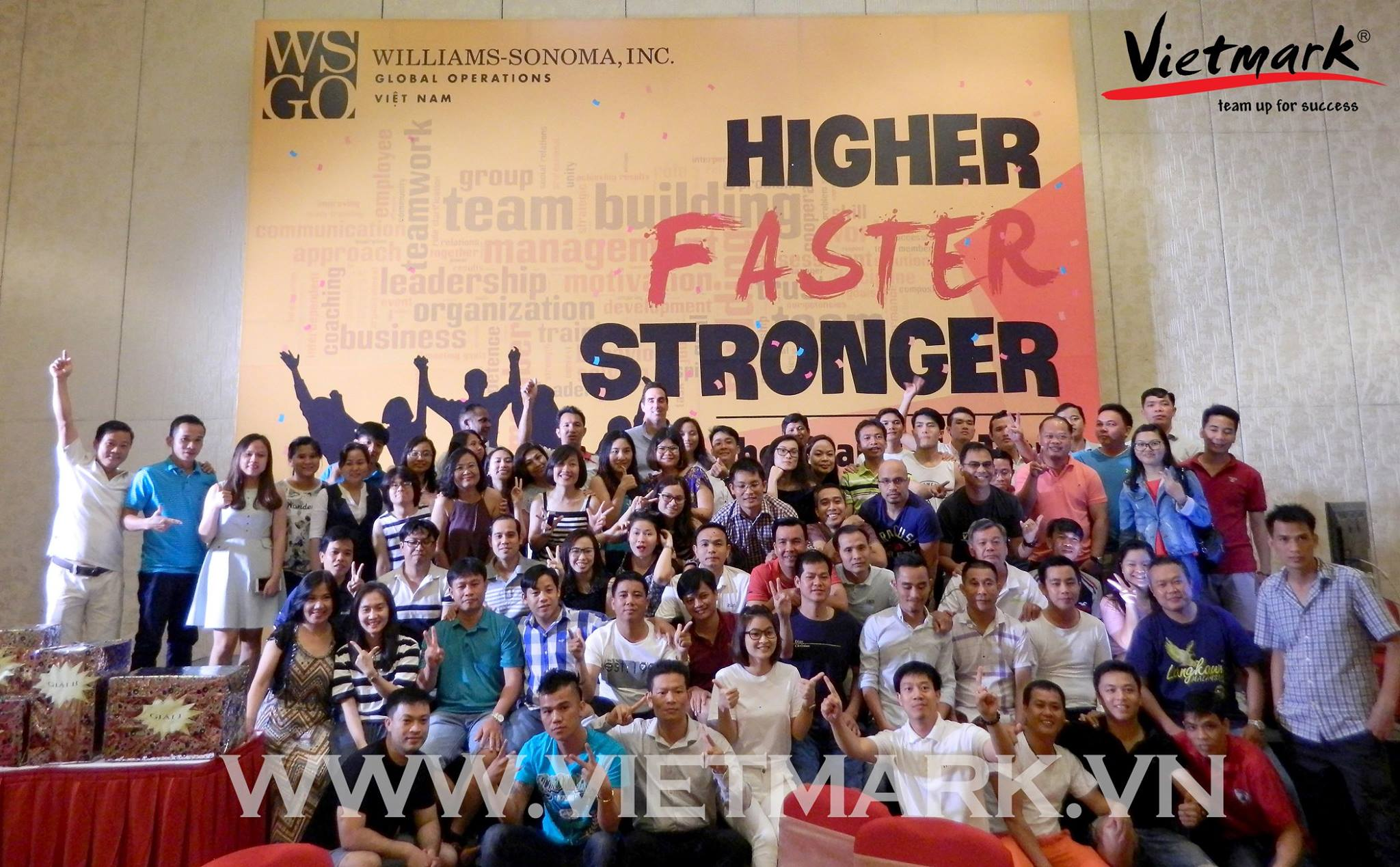 HIGHER - FASTER - STRONGER - Teambuilding 2017