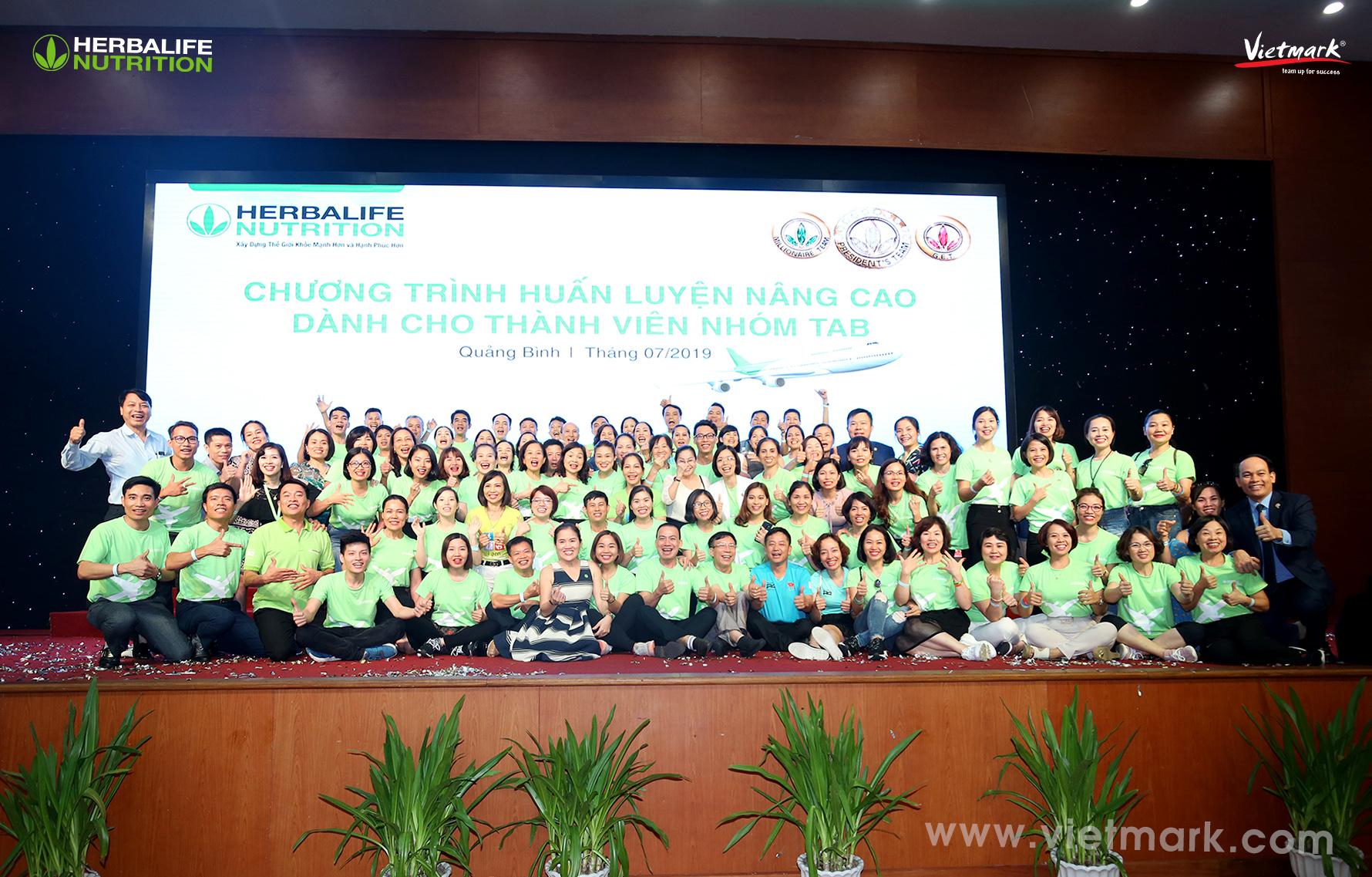 Chương Trình Huấn Luyện Nâng Cao Dành Cho 1.300 Thành Viên Herbalife